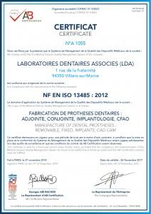 CertificatISO